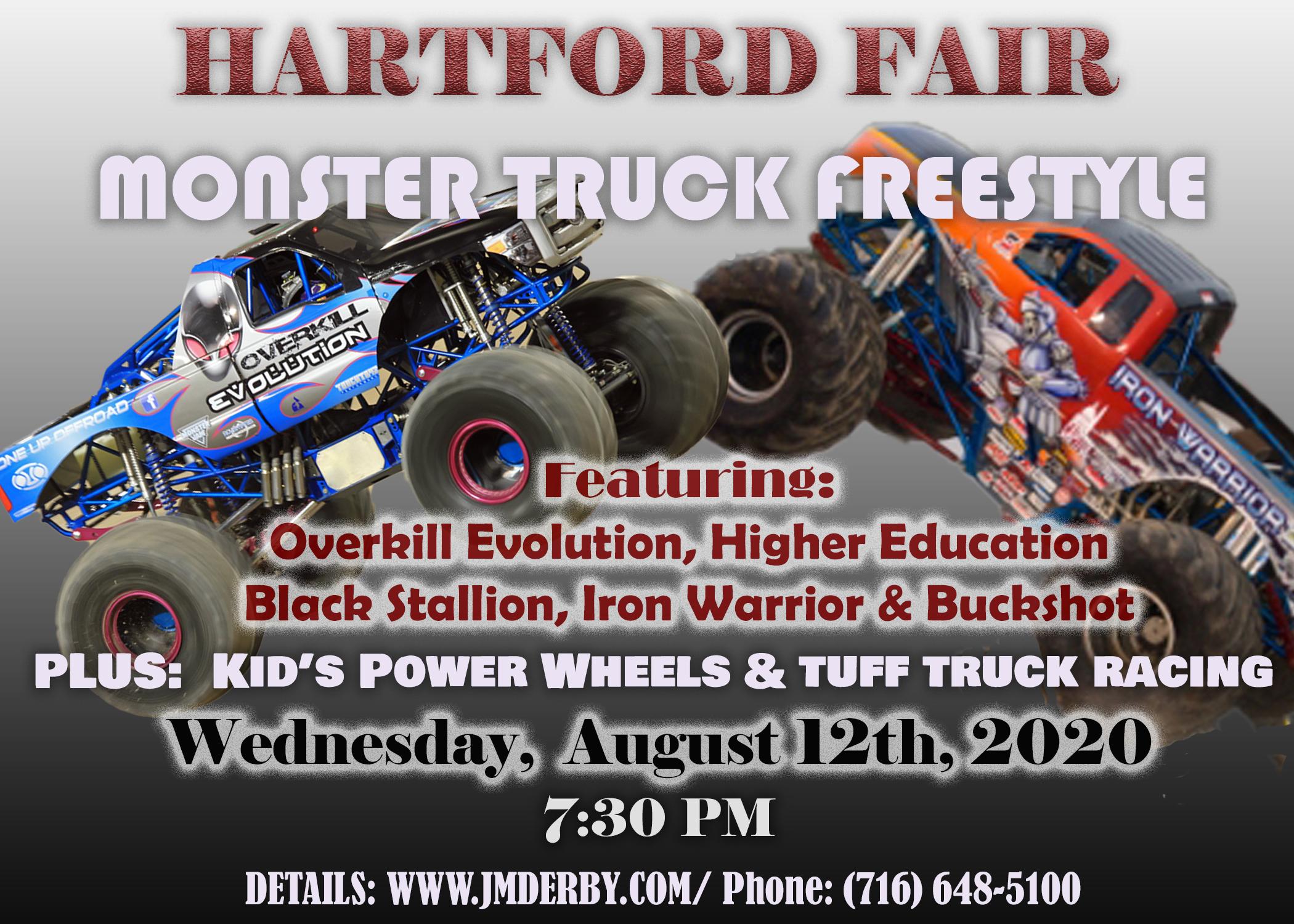 Hartford Fair Monster Trucks