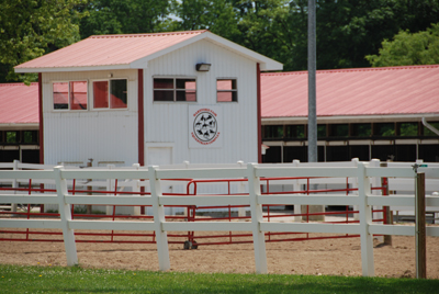 Equine Judging Stand