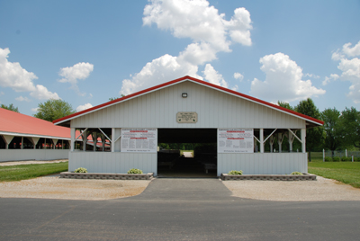 Rabbit and Poultry Barn
