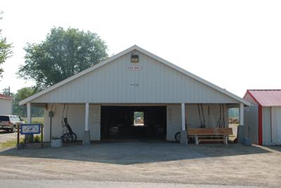 Race Horse Barns