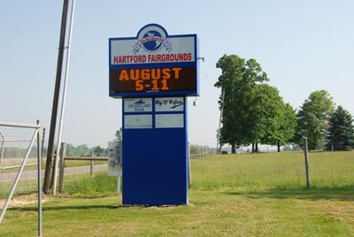 Hartford Fair Sign